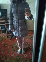 Зимнее пальто, пуховик женский