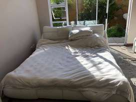 King Size Bed + FREE Frame AND FREE Bed-Side Tables
