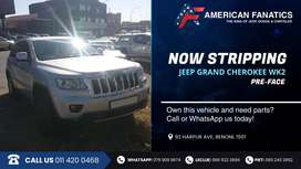 Now stripping Jeep Grand Cherokee WK2 for spare parts!