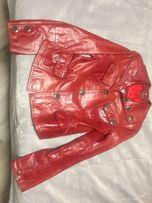 Продам женскую кожаную куртку Udekasi