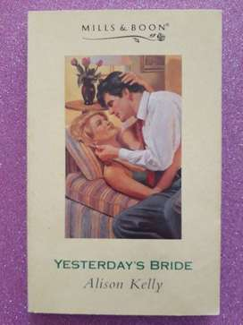 Yesterday's Bride - Alison Kelly - Mills & Boon.