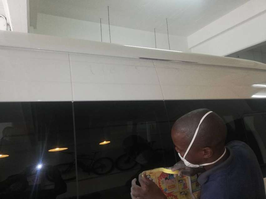 Mobile Panel beating and spray painting cheaper than normal pricing 0