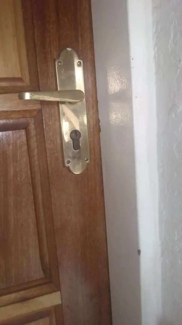 Qualified locksmith required