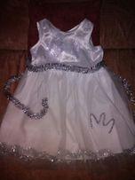 Снежинка сніжинка платье сукня