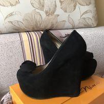 Замшевые туфли Andrea Cancellieri, 39 размер