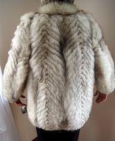 naturalne futro srebny lis