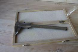 Штангенциркуль микрометр нониус в деревянном боксе