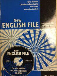 Podręcznik j.angielskiego New English File Teachers Book Pre-inter