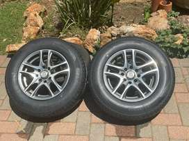 13 inch mags and tyres