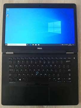 "DELL LATITUDE E7470 CORE i7-6600U 8GB DDR4 256GB SSD 14"" FHD WIN 10"