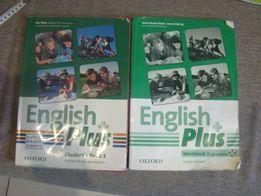 Podręcznik i ćwiczenia ENGLISH PLUS 3 z płytą