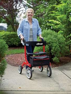 Nitro Rollator by Drive Medical. The Best in Style, Comfort and