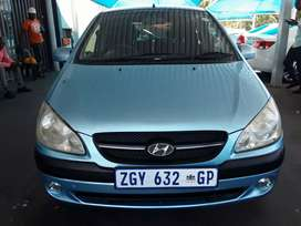 2010 HYUNDAI GETZ 1.4 ENGINE CAPACITY