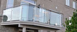 Остекление ограждений балкона