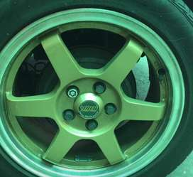MMS Rims With Tires