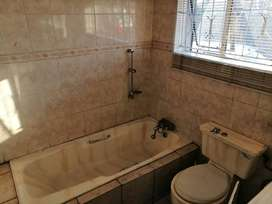 3 Bedroom house with bathroom, dining room and sitting room.