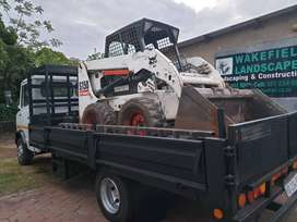 bobcat hire rubble removal excavations