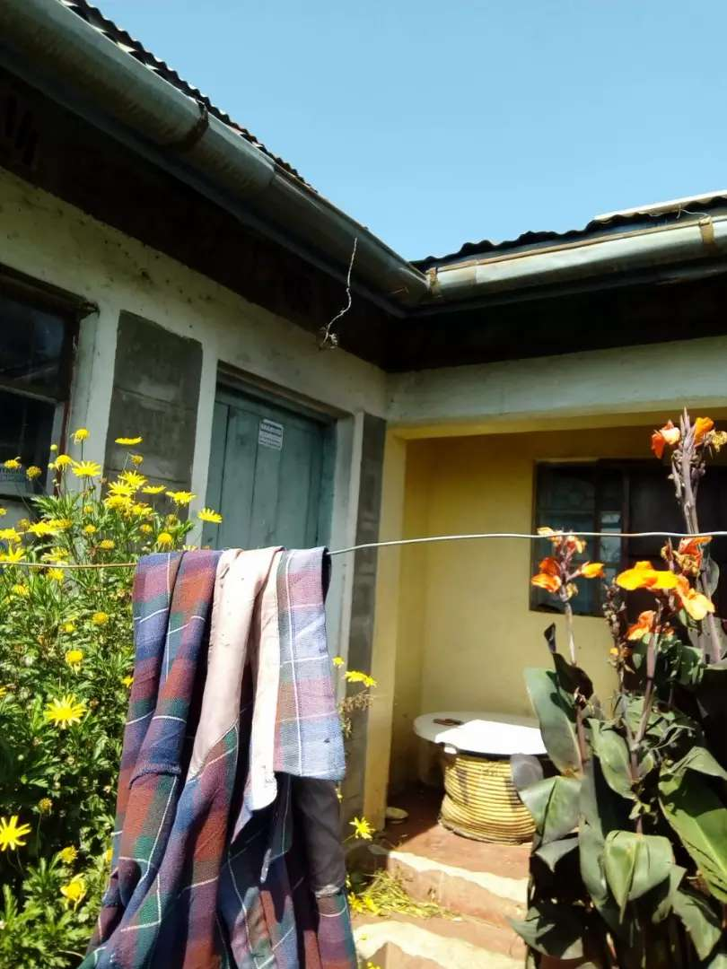3 bedroom stone house on quarter acre at Ol Kalou captain Kaimbaga 0