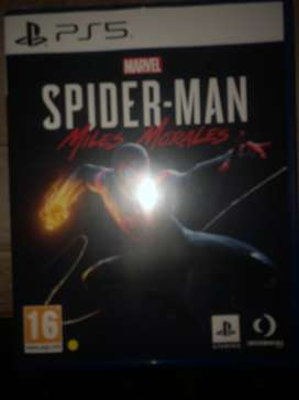 Ps5 Spderman miles morales