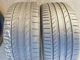 255/40/ R20 Continental ContiSportContact Tyres
