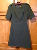 F&F sukienka mini militarna zielona