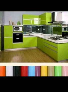 Kitchen and furniture wrapping