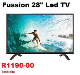 """FUSSION 24""""LED TV + REMOTE (NEW)"""