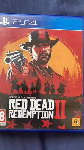Ps4 Red Dead Redemtion 2