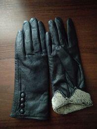 Перчатки шкіряні жіночі