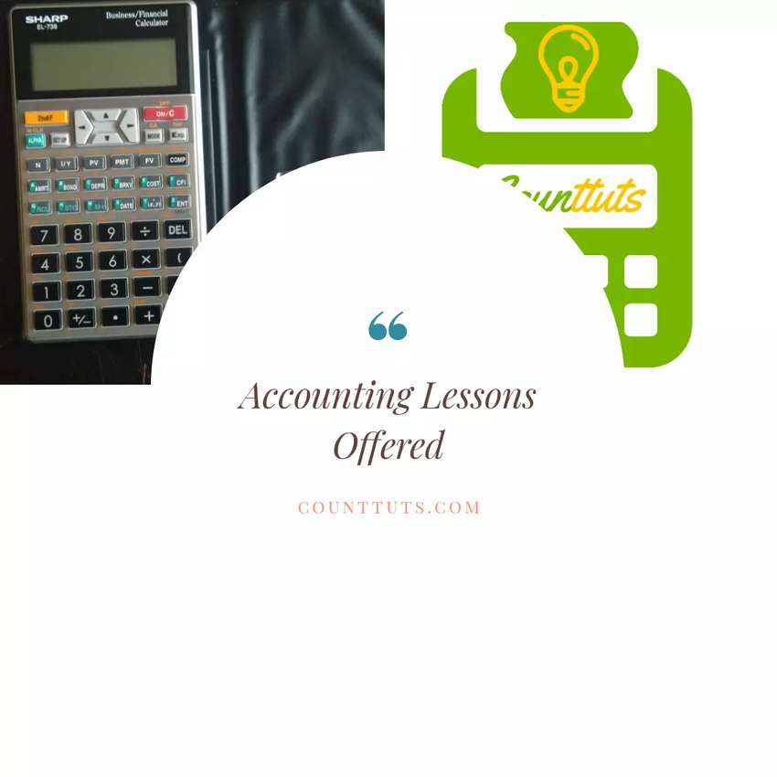 Accounting Lessons Offered 0