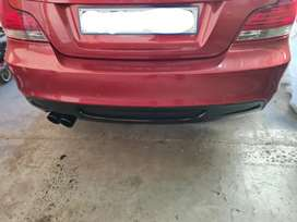 Bmw 135i bumpers