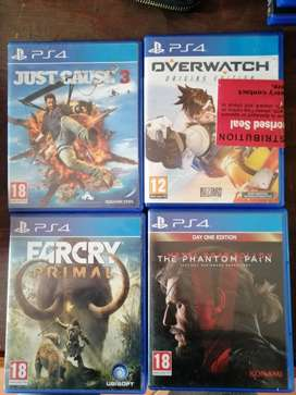 PS4 GAMES FOR SALE R200 each