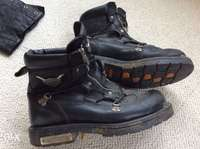 Image of Harley boots uk10.5