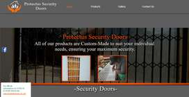 PROTECTUS SECURITY DOORS. Buy direct from the manufacturer.