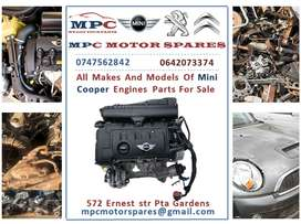 ALL MAKES AND MODELS OF MINI COOPER ENGINES  FOR SALE
