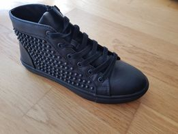 Sneakersy Steve Madden Czarne rozm38