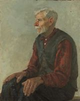 "Картина ""Печник"" (Нестеренко Борис Григорьевич, 1967)"