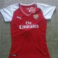 Arsenal 17/18 home female jersey 0