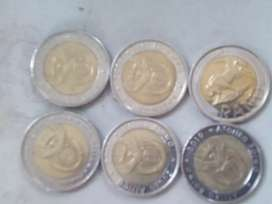Collectors limited R5 coins