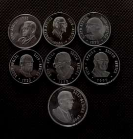 RSA PRESIDENTS PROOF COIN SET