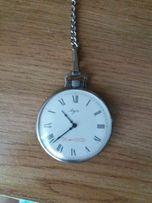 Карманные часы на цепочке Луч 60 лет СССР