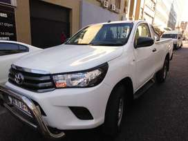 Toyota hilux DXD single cap 2016 for sale