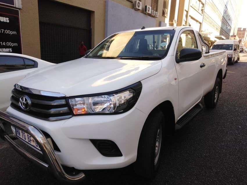 Toyota hilux DXD single cap 2016 for sale 0