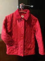 Куртка пальто детское демисезонное на девочку 4-6 лет