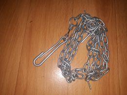 Поводок цепь для собаки есть карабин