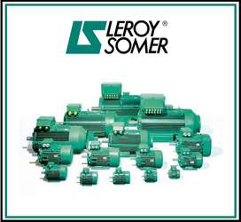LS LEROY SOMER 3 PHASE ELECTRIC MOTOR LS 90S,BRAND NEW!!