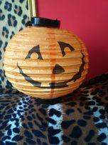 Светильник тыква на хеллоуин
