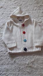 Ciepły sweter r. 6-12 m-cy
