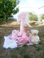 Нарядное платье на 1 годик