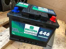 Bolster battery new starts from R650